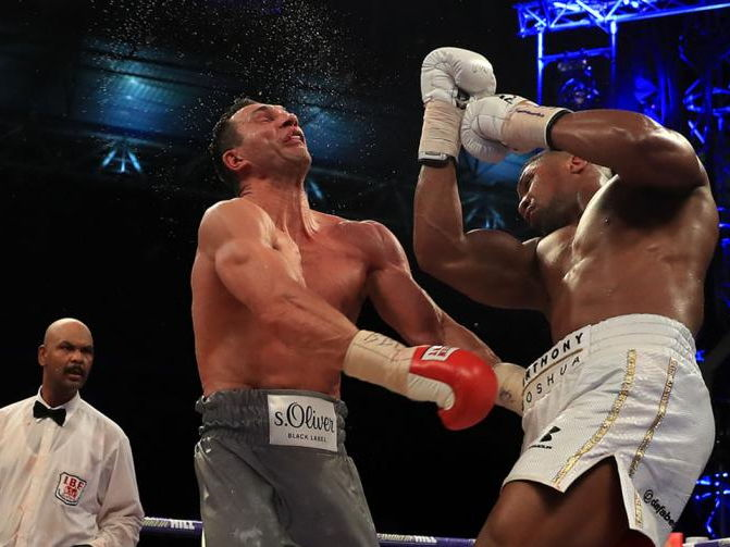 AQA Q1 and Q3 Lesson Starter: Joshua and Klitschko