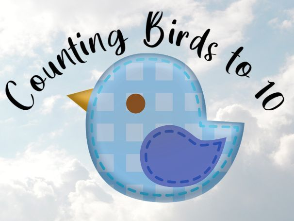 Birds Counting to 10 Activity