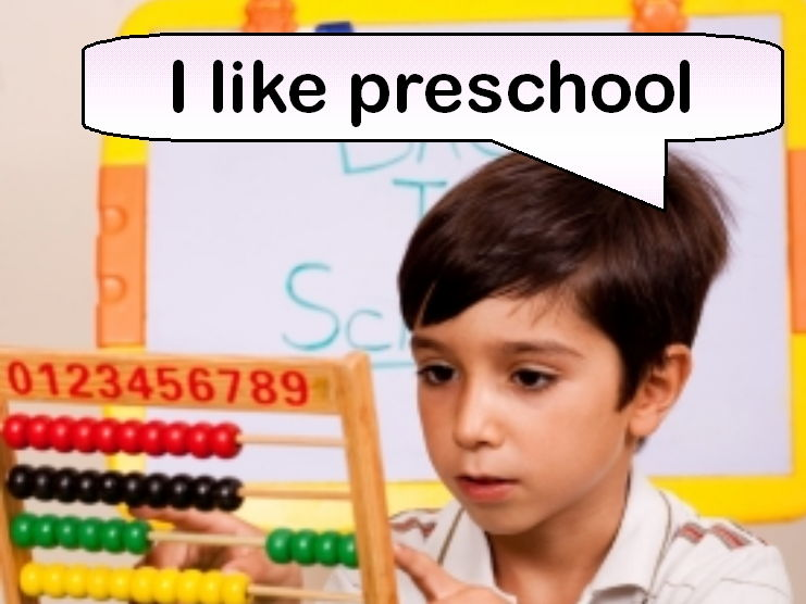 I Like Preschool (Rhyming Picture Book)