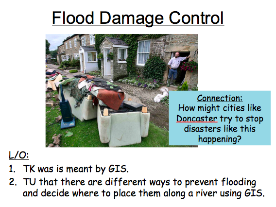 Lesson 4: Flood Control GIS