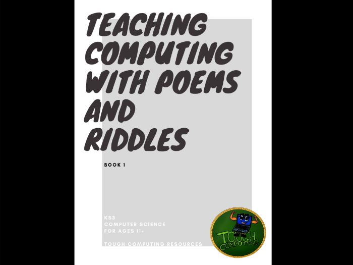 Teaching Computing with Poems & Riddles