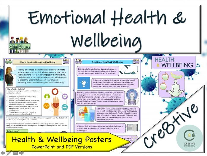Emotional Health and  Wellbeing - Home Learning