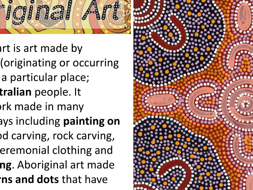 Aboriginal Art AQA award