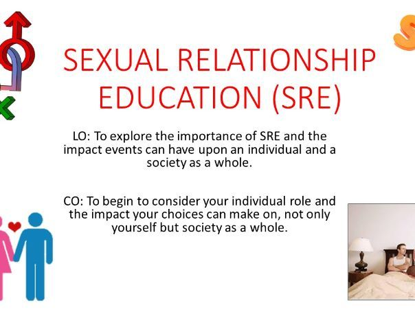 PSHE- Sexual Relationship Education (SRE)