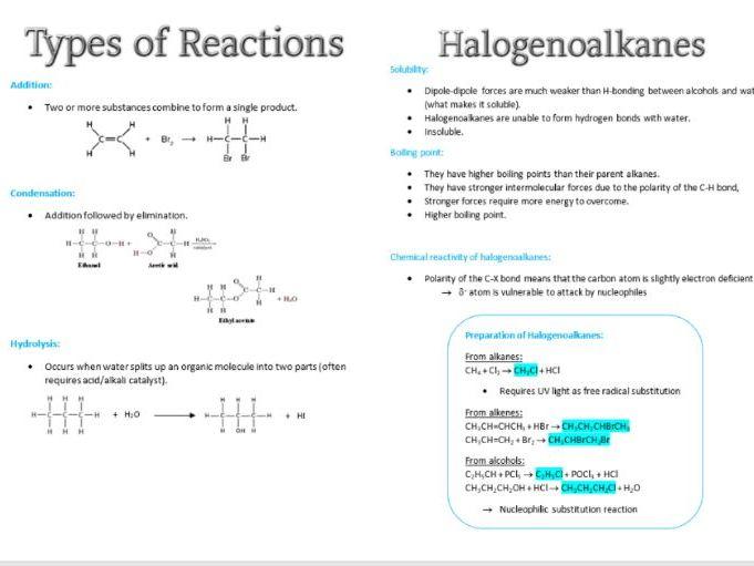 Organic Chemistry 1 for Edexcel AS