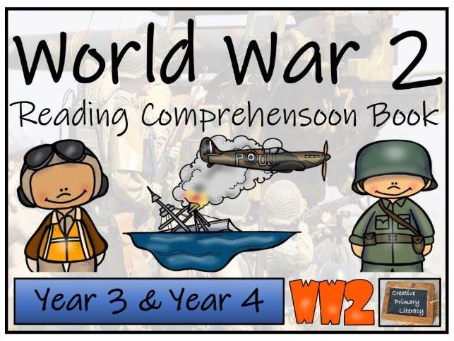 LKS2 World War 2 Reading Comprehension Activity Book