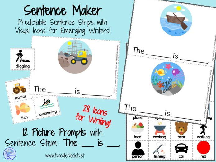 Picture Supported Sentence Maker for Autism Units