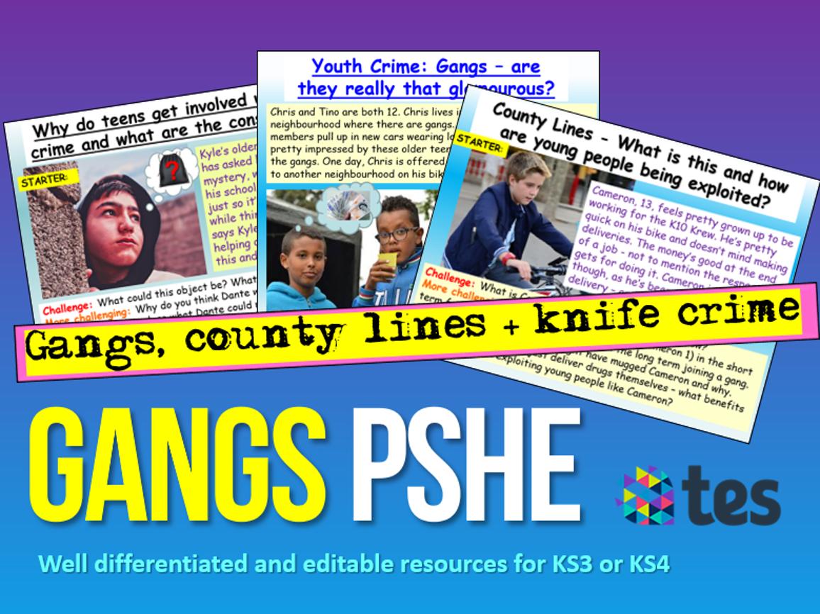 Gangs : Gangs PSHE