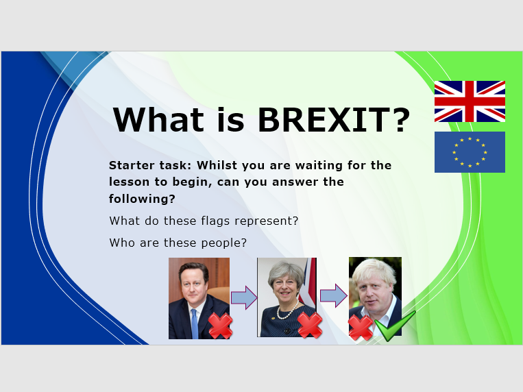 Voting Systems and BREXIT PHSE Remote Learning Lessons