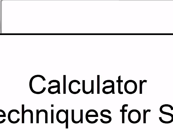 S1 All 6 videos covering the main calculator techniques for AQA (statistics) on the Casio fx-9750gII