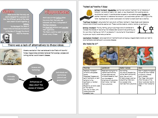 Medicine Through Time Revision Activity Book (designed for Edexcel 9-1)