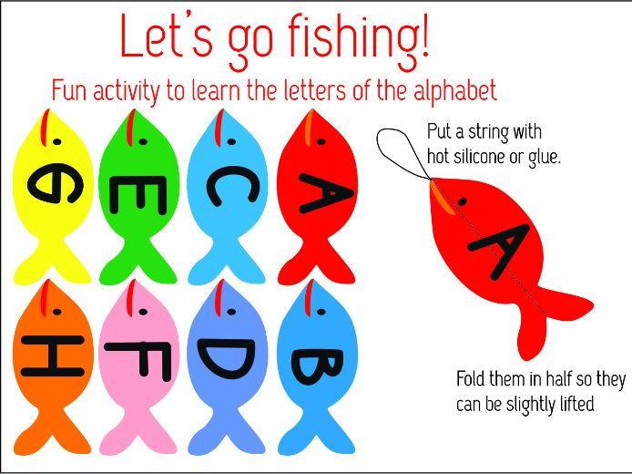 ABC Fishing activity