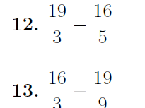 Improper fractions worksheets (with solutions)