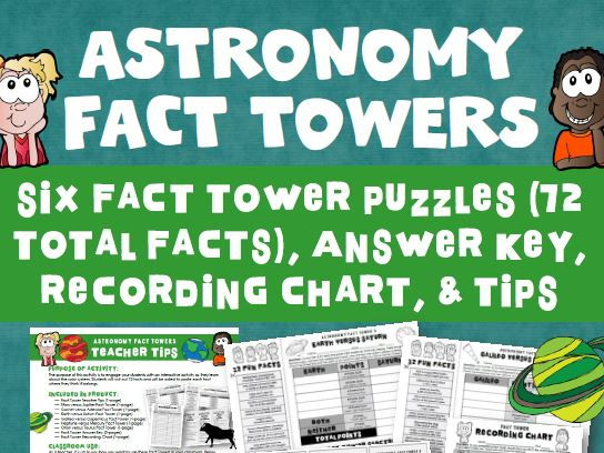 Astronomy Fact Tower Activity