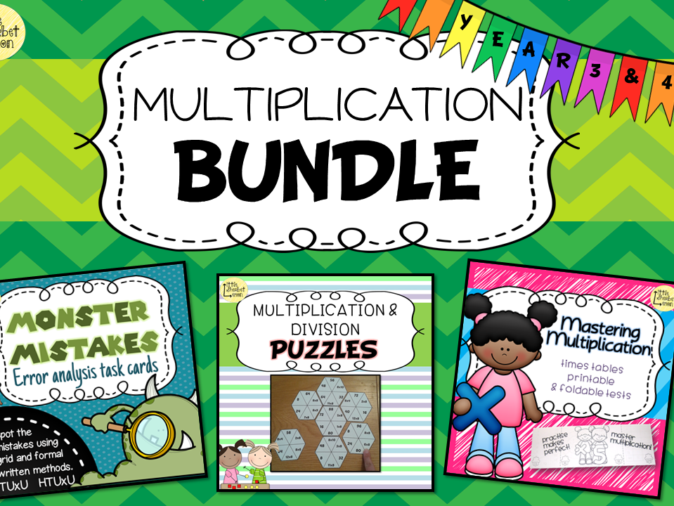 Multiplication bundle for Years 3 & 4