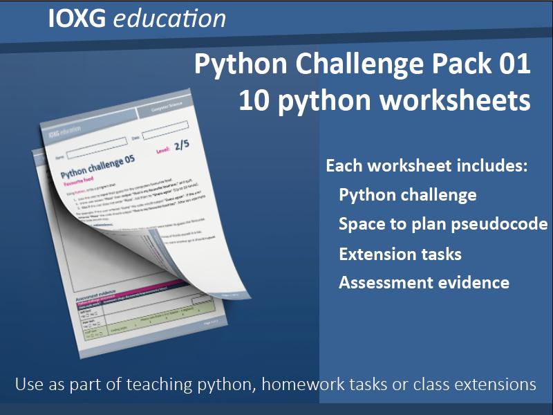 Python Challenge Pack 01