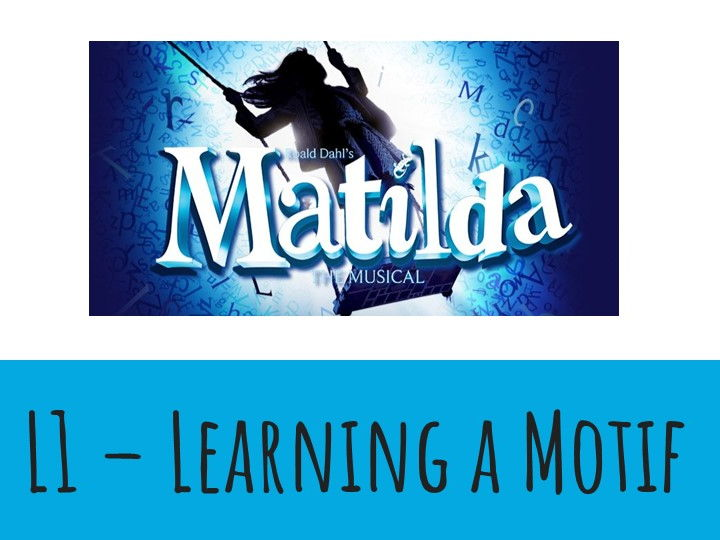 Dance KS3 Musical Theatre: Matilda Lesson 1