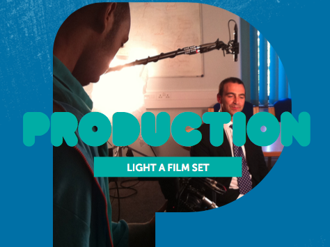 Production 1: Light a film set