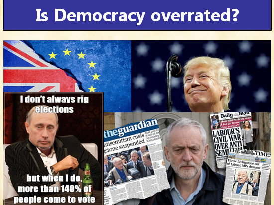 Is democracy overrated?