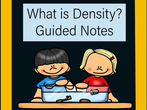 What is Density? Guided Notes