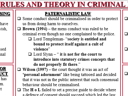 AQA A-LEVEL LAW CRIMINAL NEW SPECIFICATION