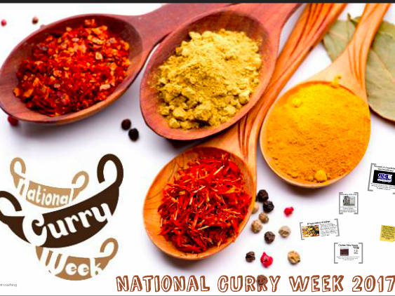 National Curry Week 2017