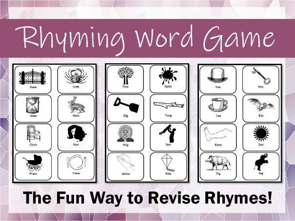 Rhyming Word Game