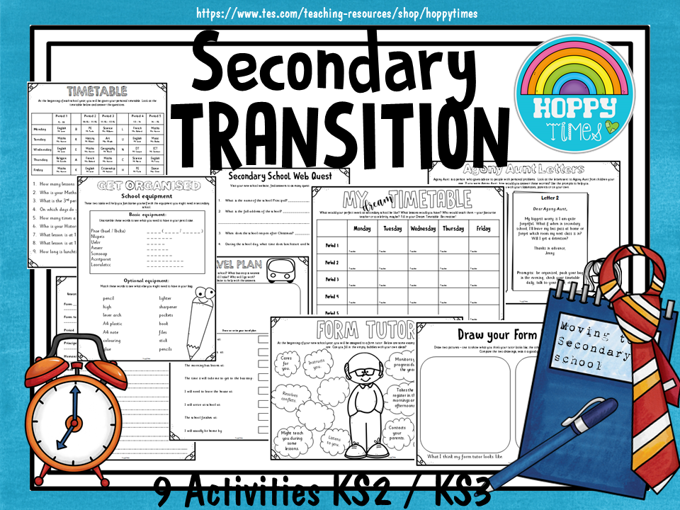 SECONDARY TRANSITION Activities