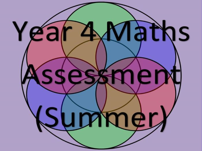 Year 4 Maths Assessment and Tracking (SUMMER)
