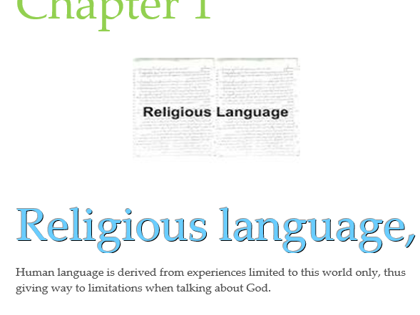 Year 13 Religious Language OCR booklet
