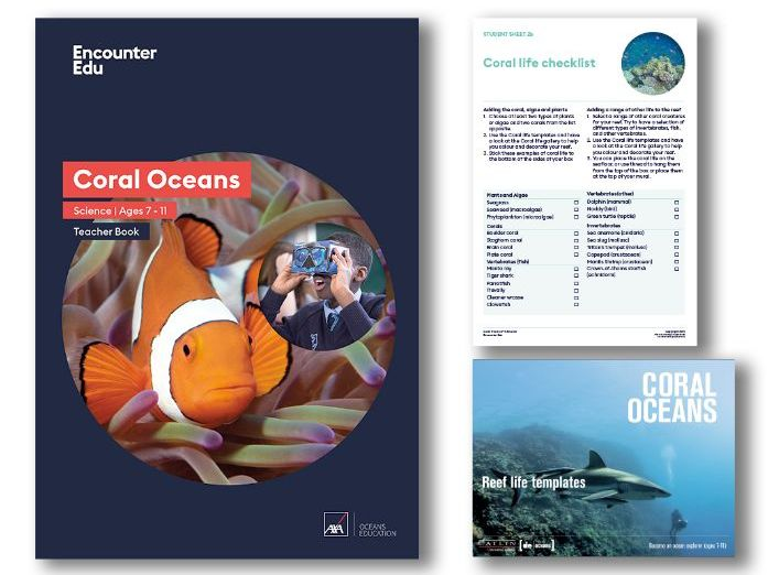 Explore the Coral Oceans: KS2 Science - Unit of Work