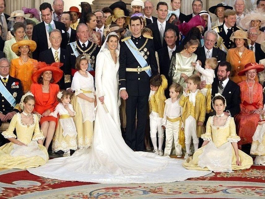 FAMILY RELATION NAMES THROUGH THE SPANISH ROYAL FAMILY