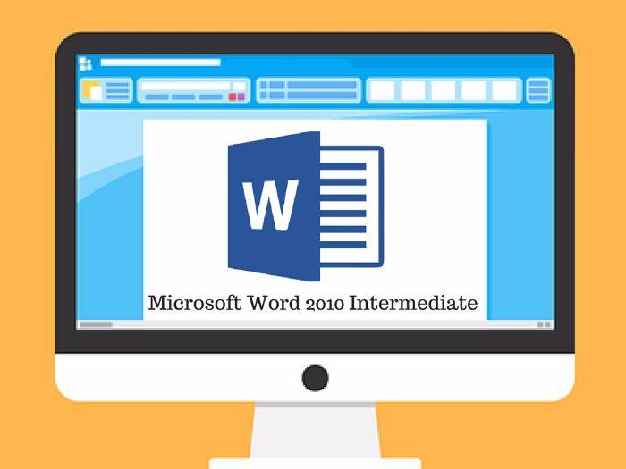 Microsoft Word Intermediate Training Manual