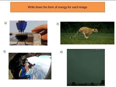 Types of energy starter