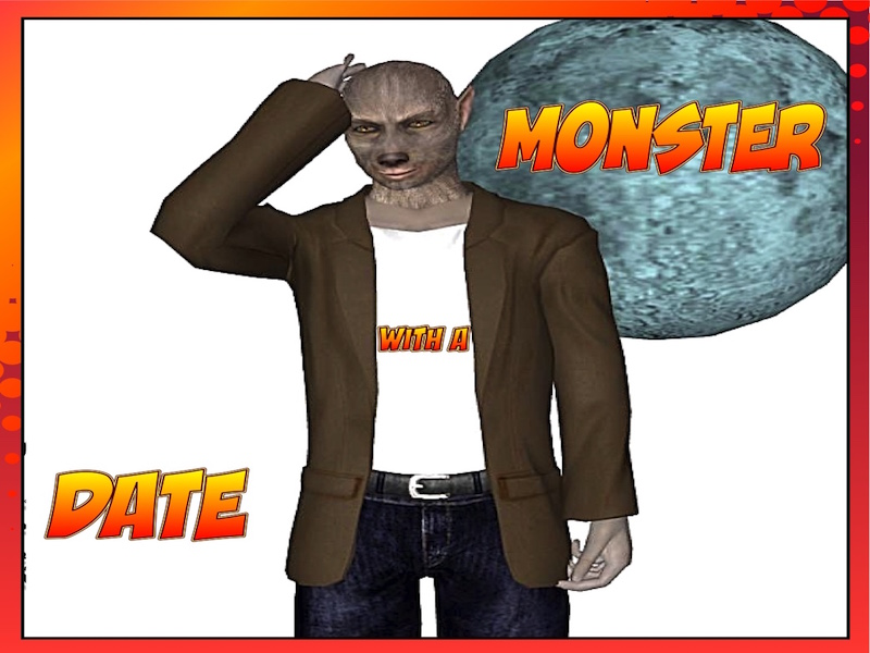 Picture Prompts - Date with a Monster