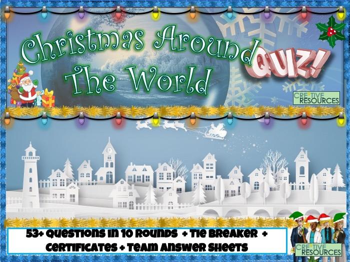 Christmas around the World KS2 Quiz