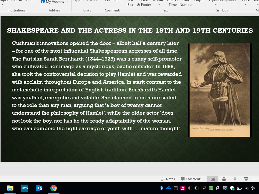 Women in Shakespeare: Female Actresses and Gender Roles