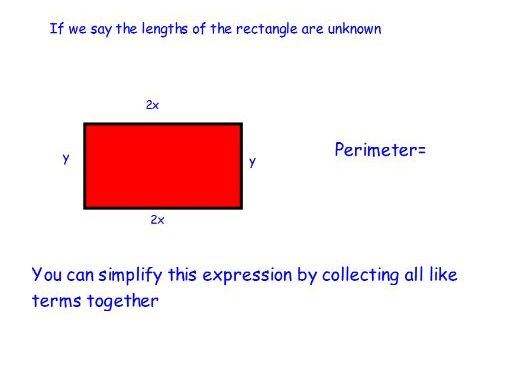 Lesson-collecting like terms