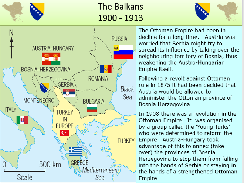 an analysis of crisis in the balkans in 1908 A summary of crises in the balkans and the road to destruction  in 1908,  however, despite russian objections, austria-hungary annexed bosnia-.