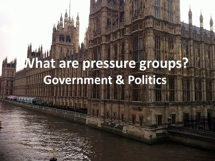 What are pressure groups?