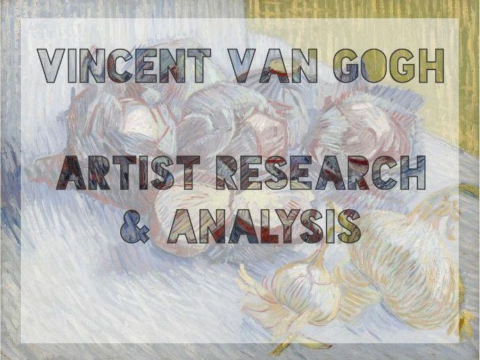Van Gogh Analysis with Still Life Study