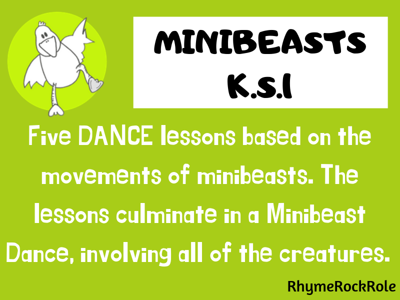 Minibeasts - 5 dance lessons, K.S.1