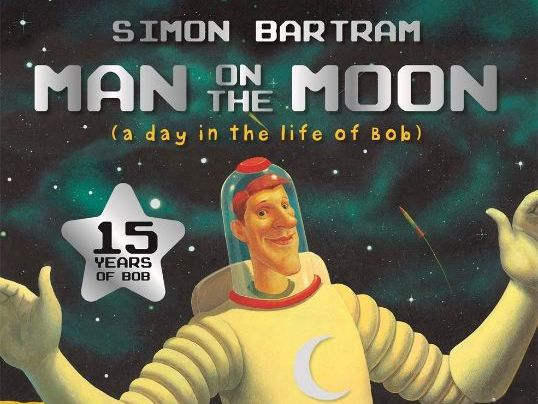 Year  1 - 2 week writing plan and resources for Man on the Moon by Simon Bartram