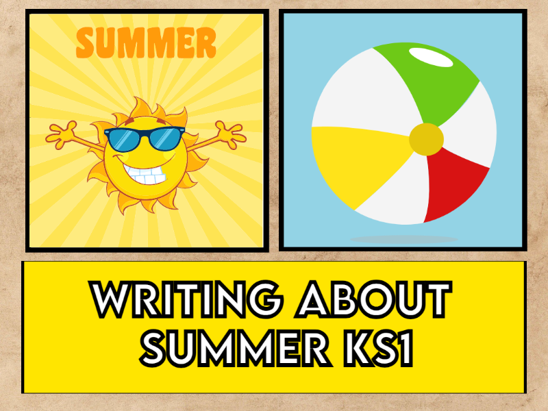 Let's Write about Summer KS1