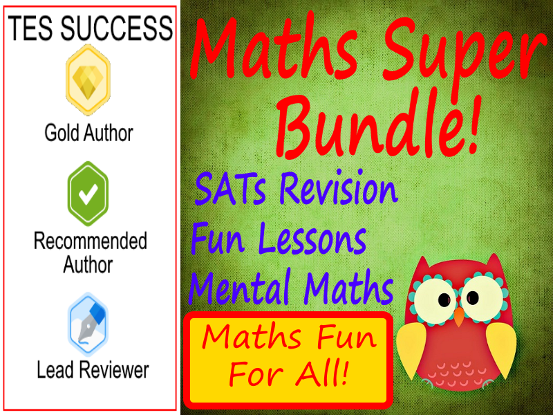 Maths Super Bundle - Perfect For Maths Day!
