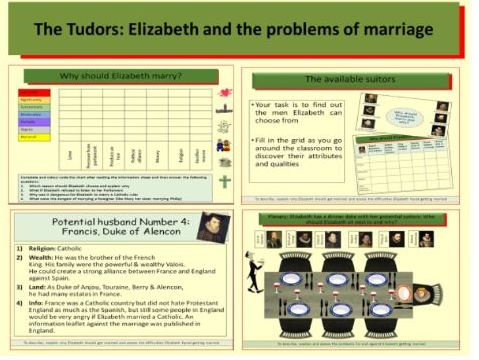 The Tudors: Elizabeth and the problems of marriage