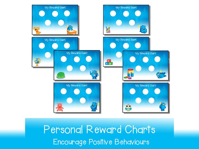 Printable Personal Reward Charts (5 & 10 Dots)
