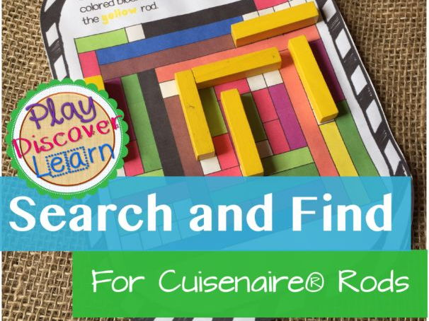 PDL's Search and Find for Cuisenaire Rods