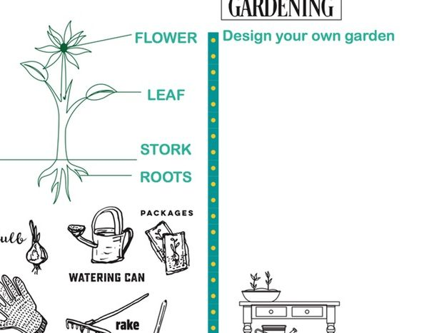 Plant and gardening worksheet