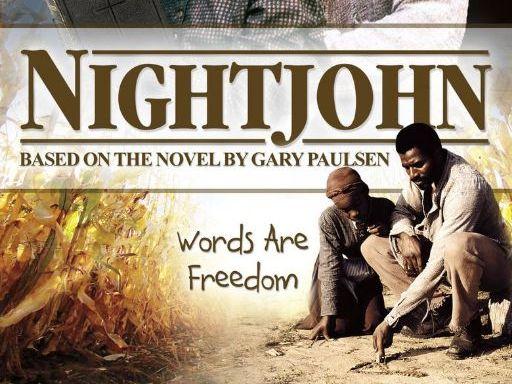 Night John Anticipation Guide and KWHL Chart (Two Bonus Videos)